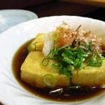 浜昇 - 揚げ出し豆腐450円