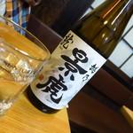 浜昇 - 越乃景虎(一合)550円