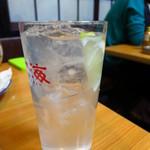 浜昇 - レモンサワー300円