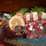 大衆割烹 善甚 - 生鯖のお造り
