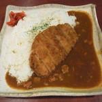 カレー鍋 伝心望 - カレーライス¥500・ロースカツトッピング¥250