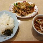 玉泉亭 - 生姜焼&ライス