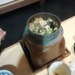 海鮮うまいもんや 浜海道  - 鶏釜飯