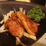 今昔亭 - フランス産鴨のくわ焼き800円。
