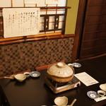 22851578 - 2階のお座敷です♪こちらは宴会する方々のテーブルですが