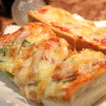 サンシャイン - ピザトーストセット850円☆おすすめ(^-^)