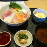 堂島雪花菜 - 2013.12海鮮丼ランチ