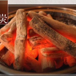炭火で焼いたお肉が一番宣言!