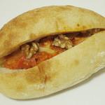 ビエル - 豚肉のトマト煮 粒マスタード(\320、2013年11月)