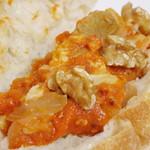 ビエル - 豚肉のトマト煮 粒マスタード(豚肉のトマト煮のアップ、2013年11月)