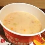 ファーストキッチン - 豆乳クラムチャウダー