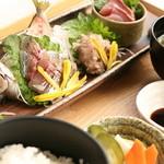 ふさのえき食堂 - 料理写真:あじまつり定食