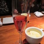 東京豚バザール - コース予約のサービスボトルワイン