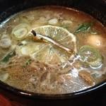 22857607 - つけ鴨スープ