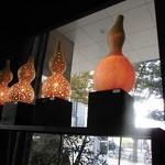 ウォーターサイト.オットー - 店内で瓢箪のランプを販売してました