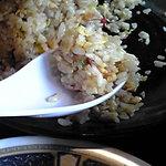 Menyarazoku - パラパラのご飯は秀逸な食感。味付けも良くてレベル高い。