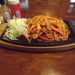 レストラン サンサワ - 「イタリアンスパゲティー」650円  h25.12.2撮影