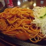 レストラン サンサワ - 「イタリアンスパゲティー」アップ h25.12.2撮影