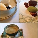 南部亭 - ランチ デザートとコーヒー