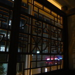 銀座MUN - 個室内(コリドー側窓)