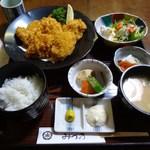 みづ乃 - カキフライ定食 1250円