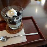 甘味茶寮 ほとり - クリームコーヒーゼリー