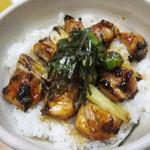 鳥やき串英 - 焼き鳥丼 600円