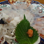 寿司 割烹 浪花 - ふく刺し