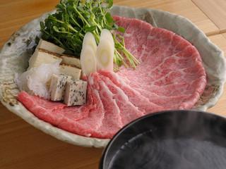 仁屋 - 黒毛和牛すき焼き五寸鍋
