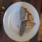 エノテカ エクウス - ランチセット(1000円)についてくる自家製焼き立てのパン 外はカリッと中はふんわり