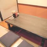 相撲茶屋佐田の海 - 落ち着いた雰囲気でゆっくりお食事をお楽しみ頂けます☆
