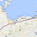 ことり - 観音寺~松山:110km