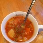 アリス・ファーム - ランチのスープ