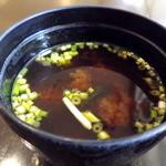 湾岸食堂 - お味噌汁です