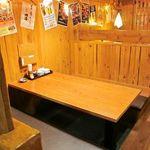 ニパチ - 自然と長居してしまう寛ぎ空間!気軽に使えるテーブル席もあり。。(※画像は系列店舗)