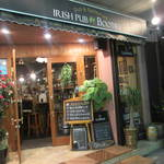 Irish pub Booties・・・ - 店頭
