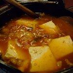 魚田 - キムチ鍋