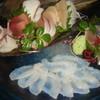 向日葵 - 料理写真:その日1番旨い魚を薄造り、刺身、湯引きで。