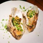バルケッタ - 牡蠣のオーブン焼き(2013年12月撮影)