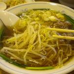 麺家あじ齊 - 旨辛ラーメン(台湾ラーメン) セットだと950円、単体で600円。