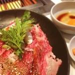 Juntan - ランチ♡すき焼き スープサラダ付きで980円!