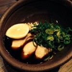 宮がみ屋 - 牡蠣ポン酢