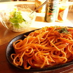 鹿鳴館 - 料理写真:昔ながらのイタリアンスパゲッティー