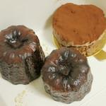 エクスキーズ - ケーキボックスの中の生菓子(2013年11月)