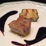 22877638 - 豚肉とナスのバルサミコソース