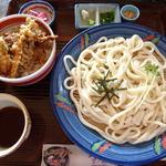 里の坊 - ランチ(ザルうどんミニ丼付)¥882