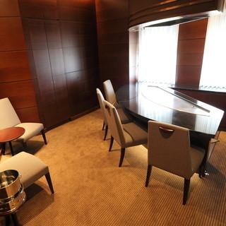 お部屋のお席もございます。ごゆっくりとお食事をどうぞ。