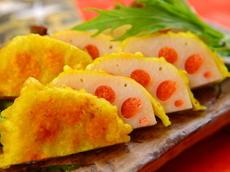 幻蔵 - 新感覚で郷土料理をアレンジ。お酒がすすむ『明太蓮根』  郷土料理でおなじみの『からし蓮根』の他に、オリジナルの『明太蓮根』も人気です。彩りもキレイで明太好きにはたまらないメニュー。お酒にピッタリの一品です。
