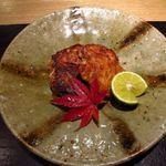 新屋敷 幸福論 - 2013/12 ディナー 白子焼き。 これは・・・絶品です