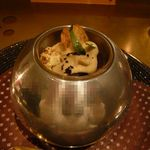イル テアトリーノ ダ サローネ - 前菜2:蛸とプレディカーヴォロフィオーレ(2013.11)